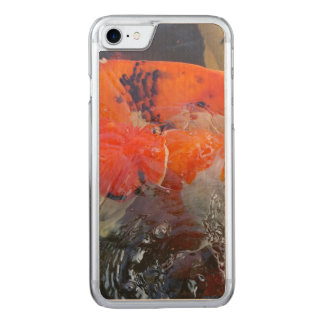 Koi Carved iPhone 7 Case