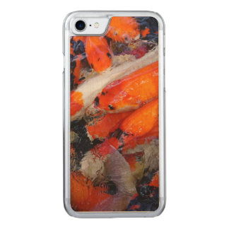 Koi Carved iPhone 8/7 Case