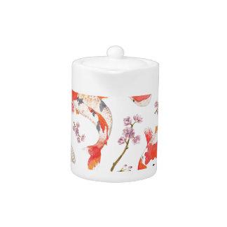 Koi Cherry Blossom Pattern