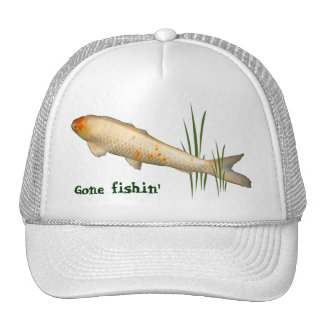 Koi Design - Gone Fishin' Cap