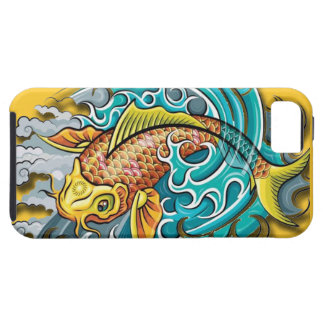 Koi Fish Art Case For The iPhone 5