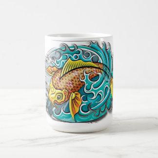Koi Fish Art Coffee Mug