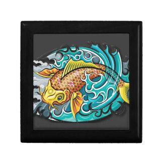 Koi Fish Art Gift Box