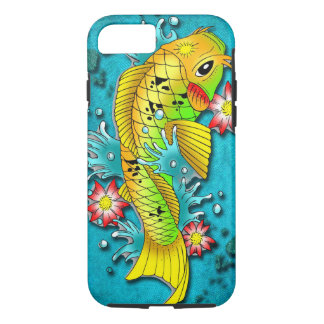 Koi Fish Art iPhone 7 Case