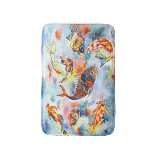 Koi Fish Bath Mat