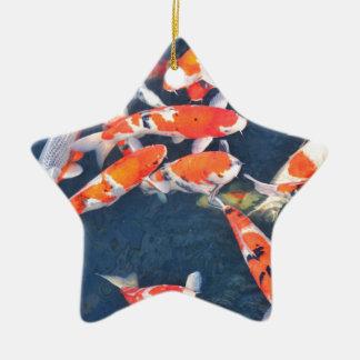 Koi fish christmas ornament
