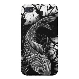 Koi fish cover case for iPhone 4