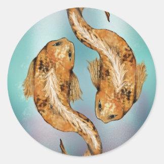 Koi Fish Design Stickers