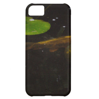 Koi Fish in a Lily Pond iPhone 5C Case