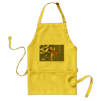 Koi Fish in a Lily Pond Standard Apron