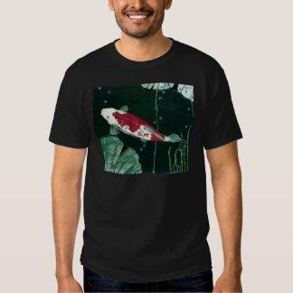 Koi Fish In Pond Tee Shirt