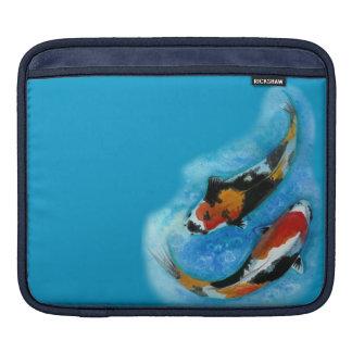 Koi Fish iPad Sleeves