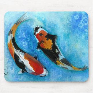 Koi Fish Mouse Mat