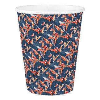 Koi fish paper cup