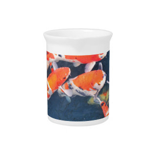 Koi fish pitcher