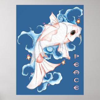 Koi Fish print