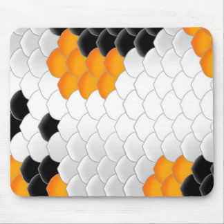 Koi Fish Scales Mouse Mat