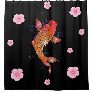 Koi Fish Sealife OCean Shower Curtain