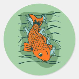 Koi Fish Stickers