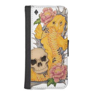 Koi fish tattoo design Iphone 5/5S plånboksfodral