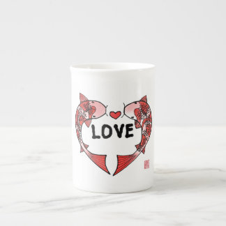 Koi Fish with LOVE Mug