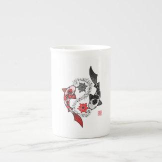 Koi Fish Yin Yang Mug