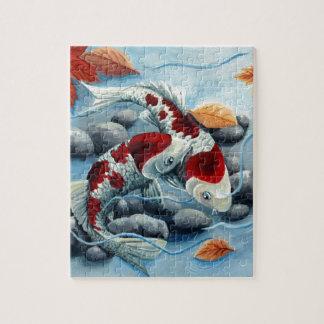 koi fishies jigsaw puzzle