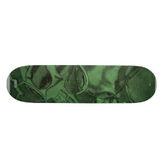 Koi (Green) 20.6 Cm Skateboard Deck