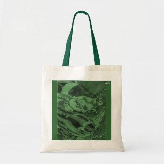 Koi (Green) Budget Tote Bag
