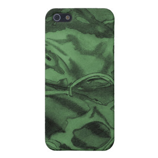 Koi (Green) Cover For iPhone 5/5S