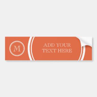 Koi High End Colored Personalized Bumper Sticker