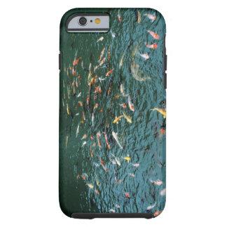 Koi in a Pond Tough iPhone 6 Case