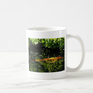 Koi in Camouflage Coffee Mugs