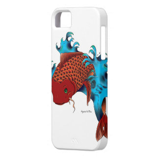 Koi in water case for the iPhone 5