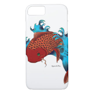Koi in water iPhone 7 case