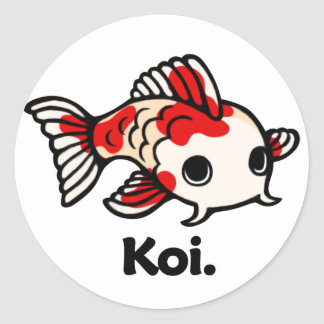 Koi Koi. Sticker