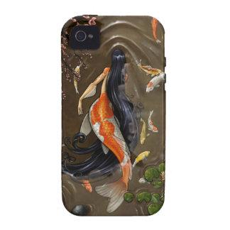 koi mermaid iPhone 4 case