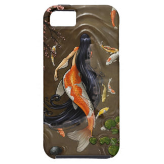 koi mermaid iPhone 5 cover
