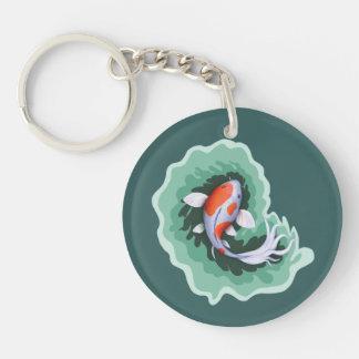 Koi Pish Painting Key Ring