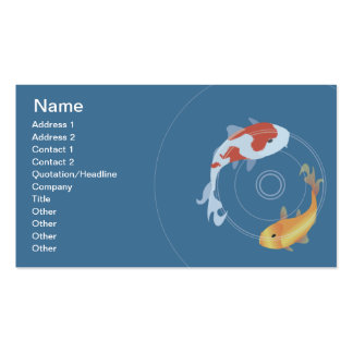 Koi Pond - Business Pack Of Standard Business Cards