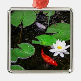Koi Pond Christmas Ornament
