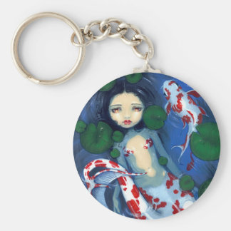 """Koi Pond Mermaid"" Keychain"