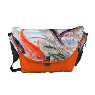 Fish pond bags handbags for Koi fish purse