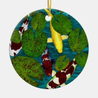 Koi pond decorations koi pond tree decorations Pond ornaments