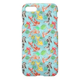 Koi pond watercolors iPhone 8/7 case
