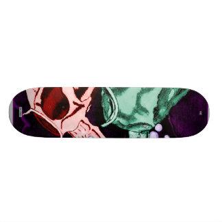 Koi (Psychedelic) 21.3 Cm Mini Skateboard Deck
