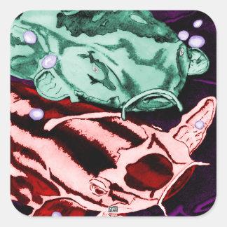 Koi (Psychedelic) Sticker