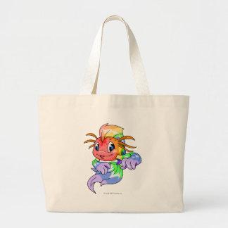 Koi Rainbow Large Tote Bag
