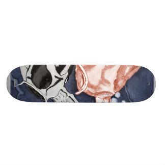 Koi (Red and Black) 20 Cm Skateboard Deck