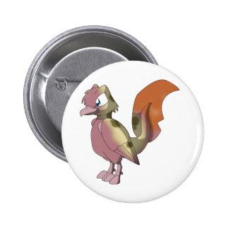 Koi Reptilian Bird - Mixed Breed 1 6 Cm Round Badge